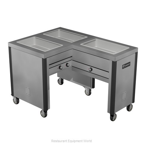 Caddy Corporation TF-603-R Electric Hot Food Steam Table
