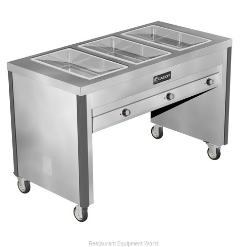 Caddy Corporation TF-603 Serving Counter Hot Food Steam Table Electric