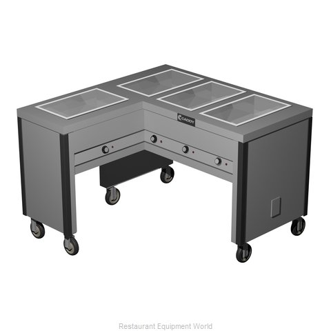 Caddy Corporation TF-604-L Electric Hot Food Steam Table