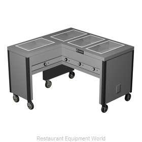 Caddy Corporation TF-604-L Serving Counter, Hot Food, Electric