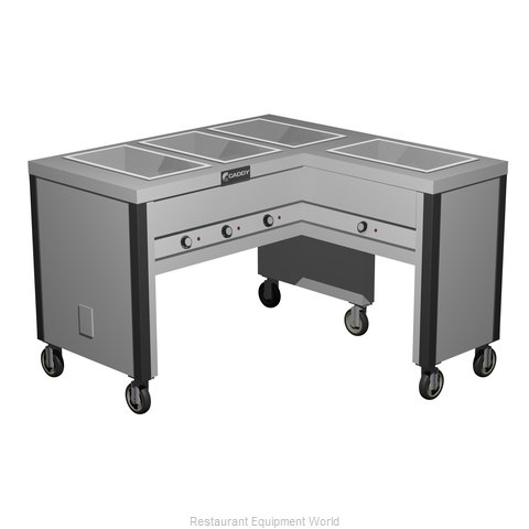 Caddy Corporation TF-604-R Serving Counter, Hot Food, Electric