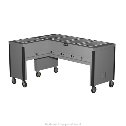 Caddy Corporation TF-605-L Serving Counter, Hot Food, Electric