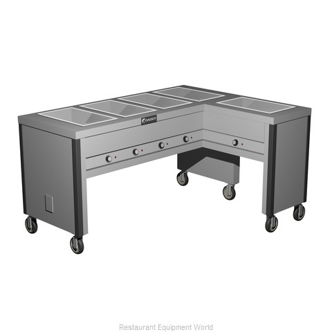 Caddy Corporation TF-605-R Electric Hot Food Steam Table