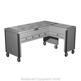 Caddy Corporation TF-605-R Serving Counter, Hot Food, Electric