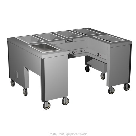 Caddy Corporation TF-606-U Electric Hot Food Steam Table