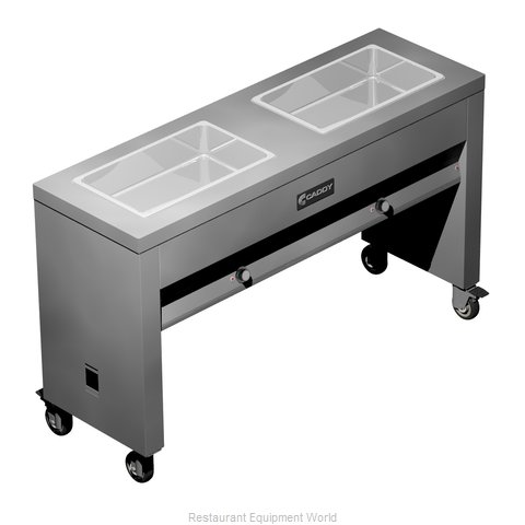 Caddy Corporation TF-612 Serving Counter Hot Food Steam Table Electric