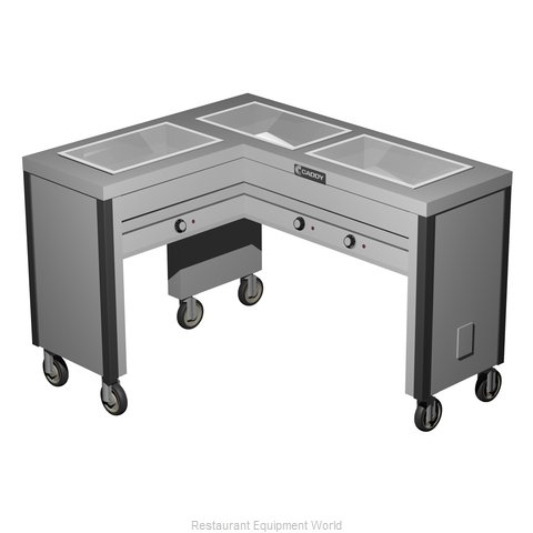 Caddy Corporation TF-613-L Electric Hot Food Steam Table