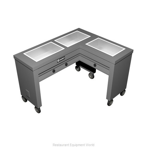 Caddy Corporation TF-613-R Electric Hot Food Steam Table