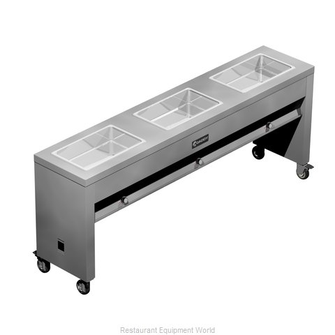 Caddy Corporation TF-613 Serving Counter Hot Food Steam Table Electric
