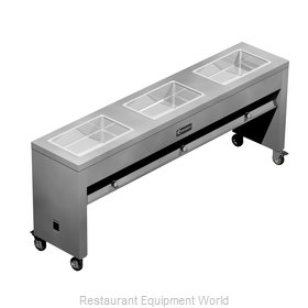Caddy Corporation TF-613 Serving Counter, Hot Food, Electric