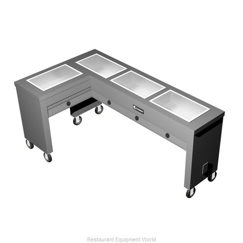 Caddy Corporation TF-614-L Electric Hot Food Steam Table