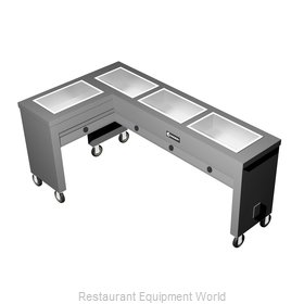 Caddy Corporation TF-614-L Serving Counter, Hot Food, Electric