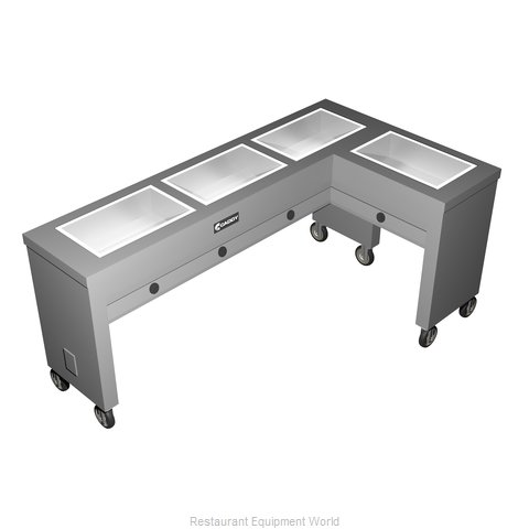 Caddy Corporation TF-614-R Serving Counter, Hot Food, Electric