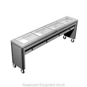 Caddy Corporation TF-614 Serving Counter Hot Food Steam Table Electric