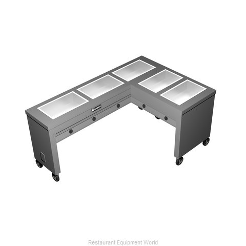 Caddy Corporation TF-615-R Electric Hot Food Steam Table