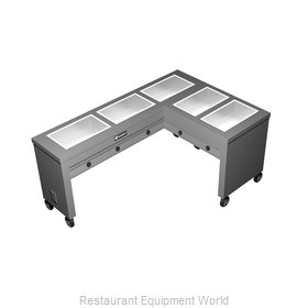 Caddy Corporation TF-615-R Serving Counter, Hot Food, Electric