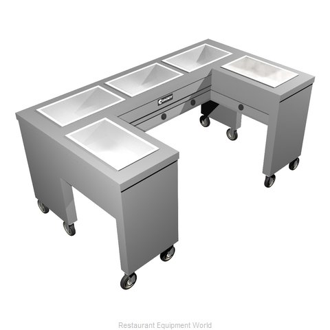 Caddy Corporation TF-615-U Electric Hot Food Steam Table