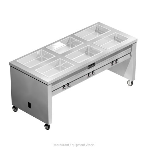 Caddy Corporation TF-616 Serving Counter Hot Food Steam Table Electric