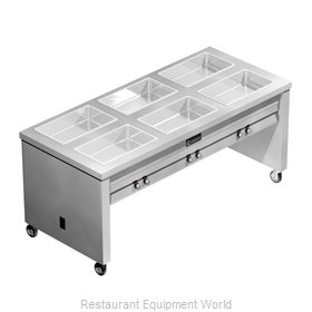 Caddy Corporation TF-616 Serving Counter, Hot Food, Electric