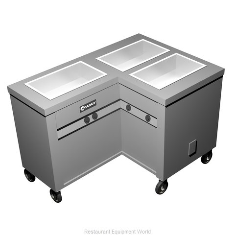 Caddy Corporation TF-623-L Electric Hot Food Steam Table