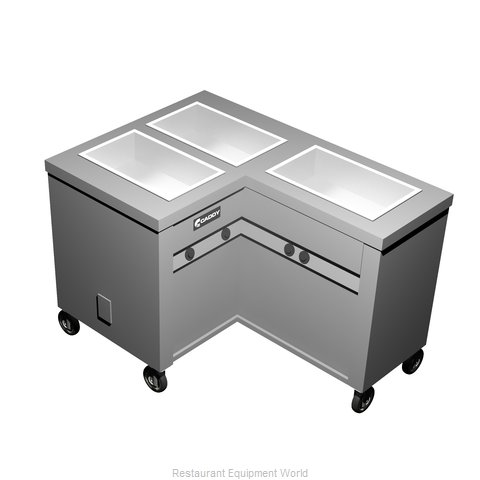Caddy Corporation TF-623-R Electric Hot Food Steam Table
