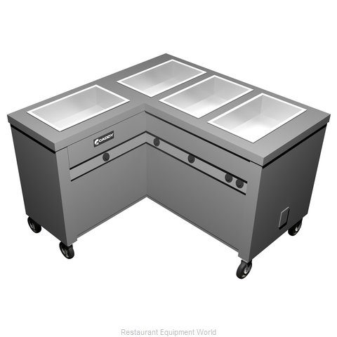 Caddy Corporation TF-624-L Electric Hot Food Steam Table