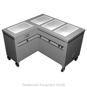 Caddy Corporation TF-624-L Serving Counter, Hot Food, Electric