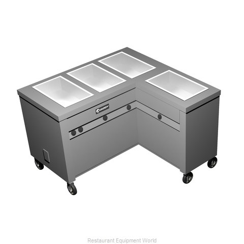 Caddy Corporation TF-624-R Electric Hot Food Steam Table