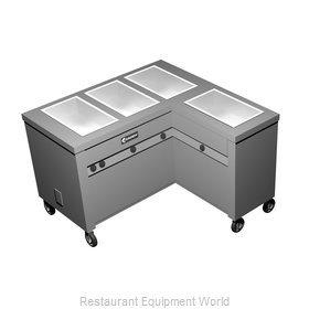 Caddy Corporation TF-624-R Serving Counter, Hot Food, Electric