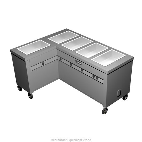 Caddy Corporation TF-625-L Electric Hot Food Steam Table