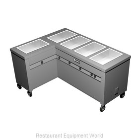 Caddy Corporation TF-625-L Serving Counter, Hot Food, Electric