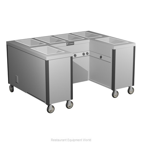 Caddy Corporation TF-626-U Electric Hot Food Steam Table