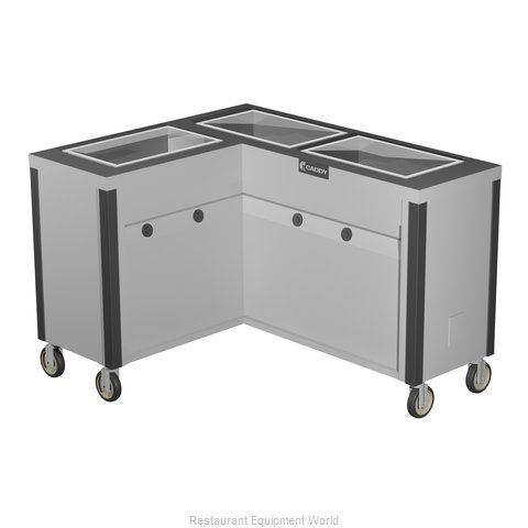Caddy Corporation TF-633-L Serving Counter, Hot Food, Electric