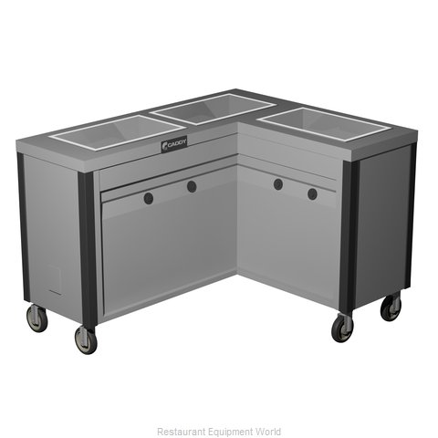Caddy Corporation TF-633-R Electric Hot Food Steam Table