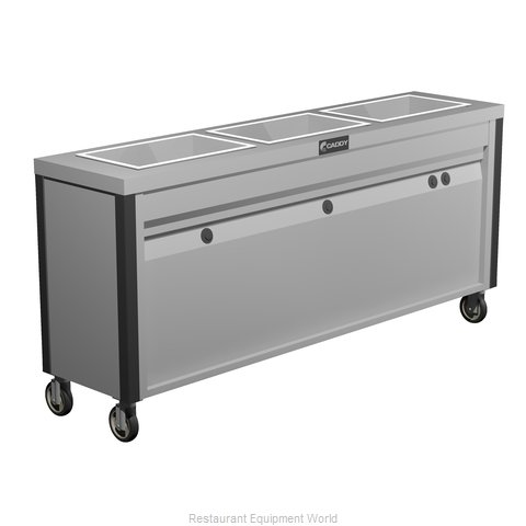 Caddy Corporation TF-633 Serving Counter Hot Food Steam Table Electric