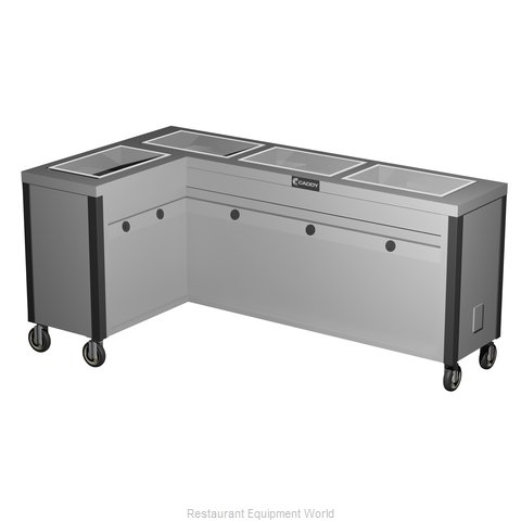 Caddy Corporation TF-634-L Electric Hot Food Steam Table