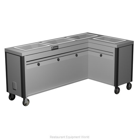 Caddy Corporation TF-634-R Electric Hot Food Steam Table