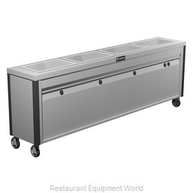 Caddy Corporation TF-634 Serving Counter Hot Food Steam Table Electric