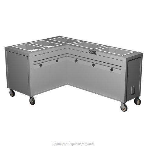 Caddy Corporation TF-635-L Electric Hot Food Steam Table