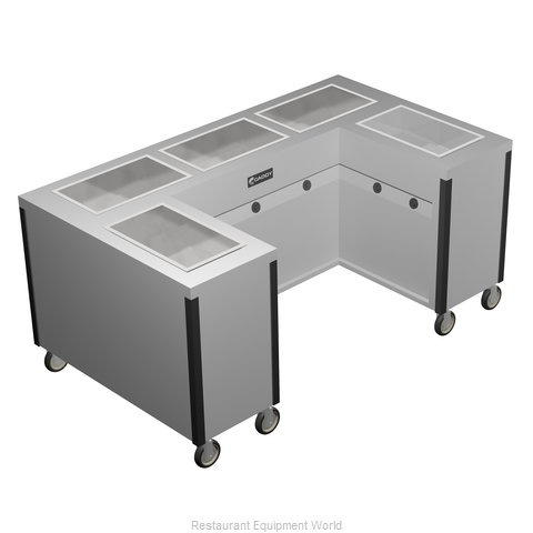Caddy Corporation TF-635-U Electric Hot Food Steam Table