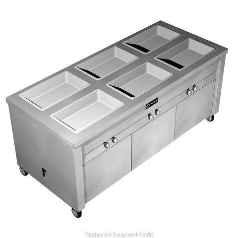 Caddy Corporation TF-636 Serving Counter Hot Food Steam Table Electric