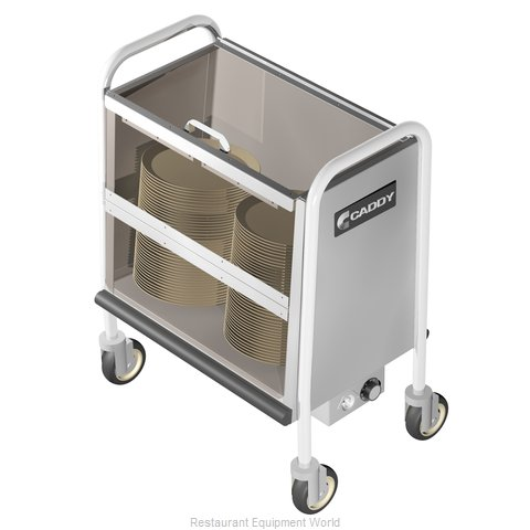 Caddy Corporation TH-130 Cart Heated Dish Storage