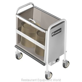 Caddy Corporation TH-130 Cart, Heated Dish Storage