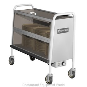 Caddy Corporation TH-140 Cart, Heated Dish Storage