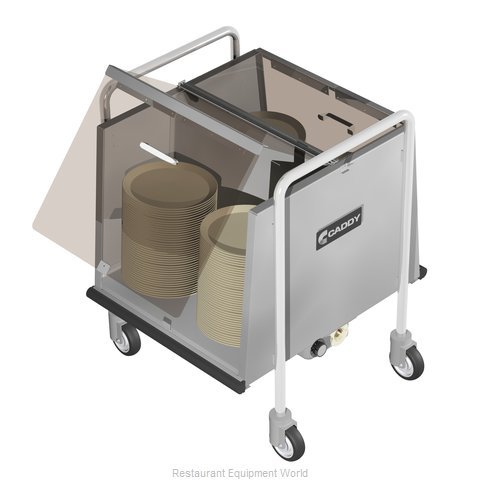 Caddy Corporation TH-160 Cart, Heated Dish Storage