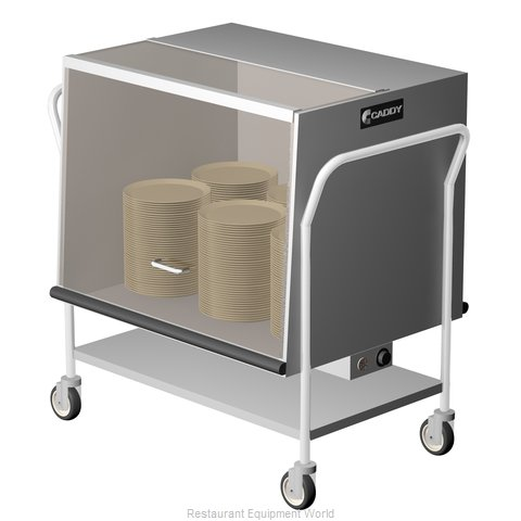 Caddy Corporation TH-190 Cart Heated Dish Storage