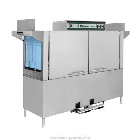 Champion 120 HDPW Dishwasher, Conveyor Type