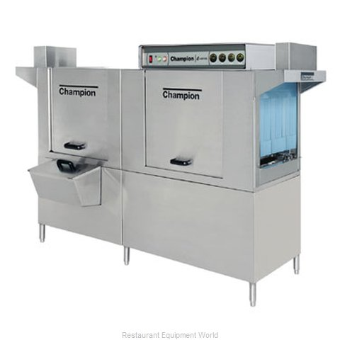 Champion 80 DRHDPW Dishwasher, Conveyor Type (Magnified)