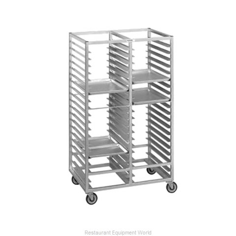 Channel Manufacturing 424A Rack Mobile Tray Double Compartment