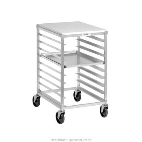 Channel Manufacturing 425AP Prep Cart Pan Rack w Work Top